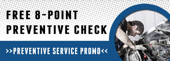 Free 8-Point Preventive Check Coupon in Exton, West Chester & Downingtown PA