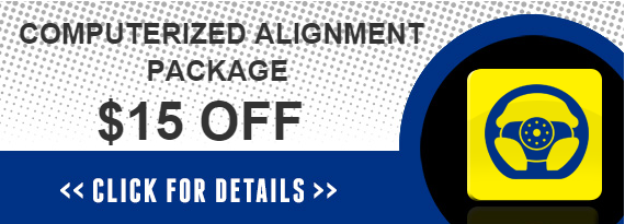 Computerized Alignment Coupon in Exton, West Chester & Downingtown PA